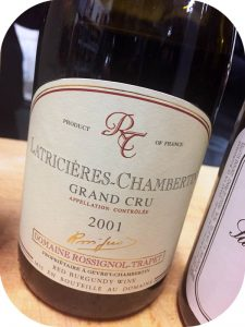 2001 Rossignol-Trapet, Latricieres-Chambertin Grand Cru, Bourgogne, Frankrig