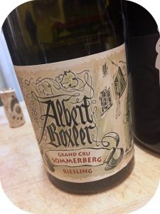 2015 Albert Boxler, Riesling Grand Cru Sommerberg Dudenstein, Alsace, Frankrig