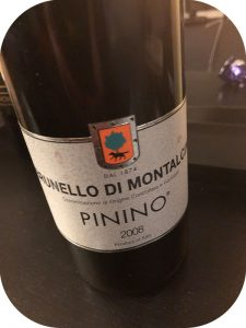 2008 Pinino, Brunello di Montalcino, Toscana, Italien
