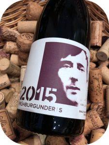 2015 Winzerei Lüttmer, Herr Lüttmer Frühburgunder S Weischützer Nüssenberg, Saale-Unstrut, Tyskland