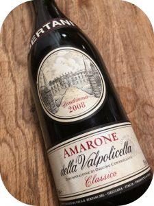 2008 Bertani, Amarone delle Valpolicella Classico, Veneto, Italien