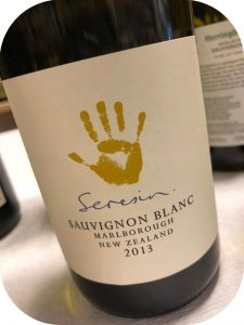 2013 Seresin Estate, Sauvignon Blanc, Marlborough, New Zealand