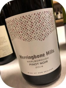 2014 Winegrowers of ARA, Herringbone Hills Pinot Noir, Marlborough, New Zealand