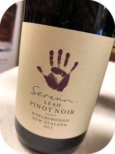 2013 Seresin Estate, Pinot Noir Leah, Marlborough, New Zealand
