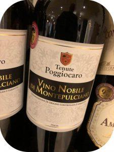 2013 Tenute Poggiocaro, Vino Nobile di Montepulciano, Toscana, Italien