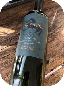 2016 Odfjell Vineyards, Orzada Carignan, Maule Valley, Chile