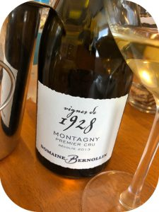 2013 Domaine Bernollin, Montagny 1. Cru Vignes de 1928, Bourgogne, Frankrig