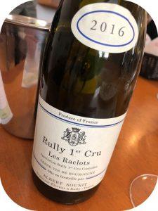 2016 Albert Sounit, Rully 1. Cru Les Raclots, Bourgogne, Frankrig