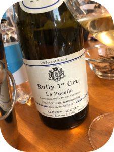 2016 Albert Sounit, Rully 1. Cru La Pucelle, Bourgogne, Frankrig