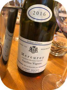 2016 Albert Sounit, Mercurey Vielles Vignes, Bourgogne, Frankrig