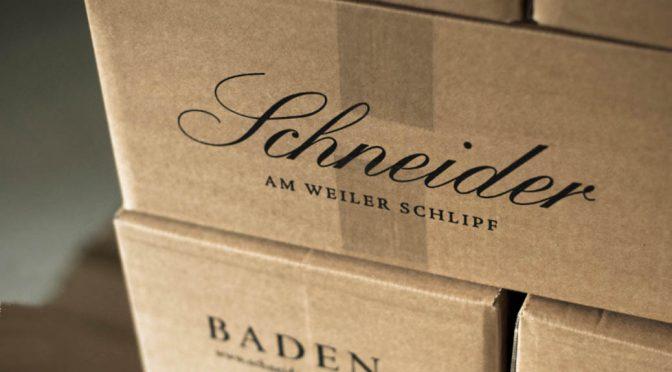 2013 Weingut Schneider, Weiler Schlipf CS Spätburgunder ***, Baden, Tyskland