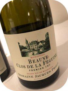 2016 Domaine Jacques Prieur, Beaune Clos de la Féguine Premier Cru, Bourgogne, Frankrig