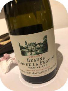 2012 Domaine Jacques Prieur, Beaune Clos de la Féguine Blanc Premier Cru, Bourgogne, Frankrig
