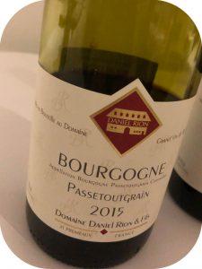 2015 Domaine Daniel Rion & Fils, Bourgogne Passetoutgrain, Bourgogne, Frankrig