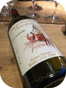 2015 Peggy & Jean Pascal Buronfosse, Pinot Les Soupois, Jura, Frankri