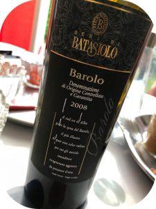 2008 Beni di Batasiolo, Barolo, Piemonte, Italien