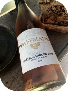 2016 Weingut Wageck Pfaffmann, Grosskarlbacher Spätburgunder Rosé, Pfalz, Tyskland