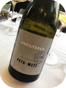 2016 Weingut Peth-Wetz, Chardonnay Unfiltered, Rheinhessen, Tyskland