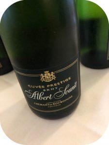 2016 Albert Sounit, Crémant de Bourgogne Cuvée Prestige Brut, Bourgogne, Frankrig