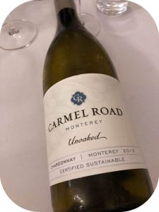 2015 Carmel Road Winery, Monterey Unoaked Chardonnay, Californien, USA