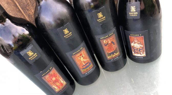Seriesmagning af vinøse tarotkort … Xavier Vignons Arcane vine