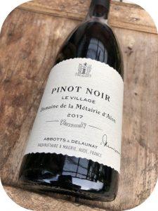 2017 Domaine de la Métairie d'Alon, Pinot Noir Le Village, Languedoc, Frankrig