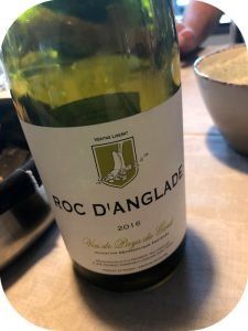 2016 Roc d'Anglade, Blanc, Languedoc,