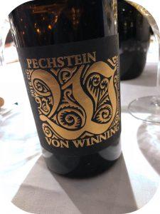 2016 Weingut von Winning, Forster Pechstein Riesling GG, Pfalz, Tyskland