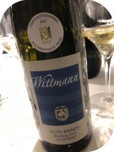 2016 Weingut Wittmann, La Borne Riesling Alte Reben GG, Rheinhessen, Tyskland
