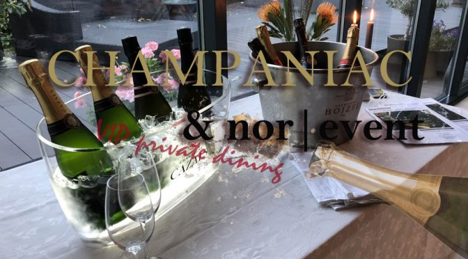 VIP Champagnesmagning & Private Dining ekstravaganza