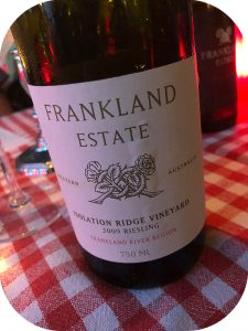 2009 Frankland Estate, Isolation Ridge Vineyard Riesling, Western Australia, Australien