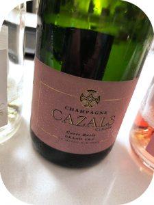 N.V. Claude Cazals, Cuvée Rosé Grand Cru, Champagne, Frankrig