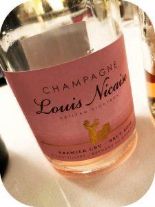 N.V. Louis Nicaise, Premier Cru Rosé Brut, Champagne, Frankri