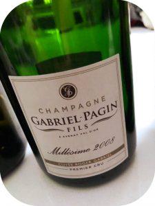 2008 Gabriel-Pagin Fils, Cuvée Roger Gabriel Blanc de Blancs Premier Cru, Champagne, Frankrig