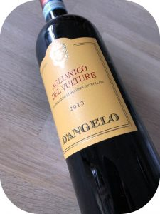 2013 D'Angelo, Aglianico del Vulture, Basilicata, Italien