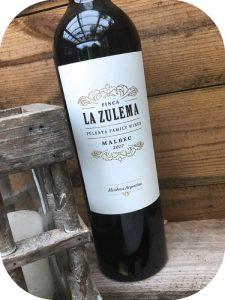 2017 Pulenta Estate, Finca la Zulema Malbec, Mendoza, Argentina
