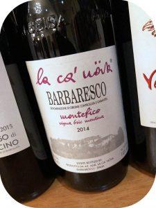 2014 La Ca' Növa, Barbaresco Montefico Vigna Bric Mentina, Piemonte, Italien