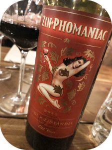 2015 Zin-Phomaniac, Lodi Old Vines Zinfandel, Californien, USA