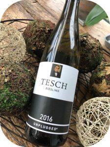 2016 Weingut Tesch, Riesling Unplugged, Nahe, Tyskland