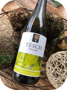 2016 Weingut Tesch, Riesling Löhrer Berg, Nahe, Tyskland
