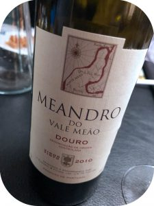 2010 Quinta do Vale Meâo, Meandro Tinto, Douro, Portugal