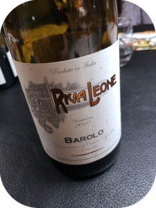 2010 MGM Mondo del Vino, Riva Leone Barolo, Piemonte, Italien