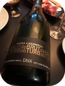 N.V. Maria Casanovas I Roig, Cava Brut de Brut, Penedès, Spanien