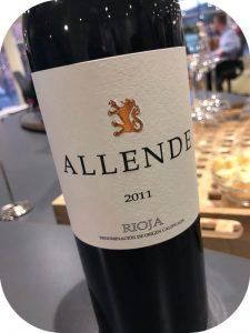 2011 Finca Allende, Allende Tinto, Rioja, Spanien