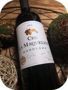 2016 Cru la Maqueline, Cru la Maqueline, Bordeaux, Frankrig