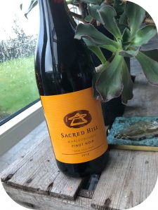 2016 Sacred Hill Vineyards, Pinot Noir, Marlborough, New Zealand