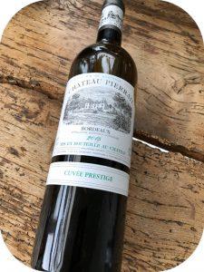 2015 Château Pierrail, Cuvée Prestige Blanc, Bordeaux, Frankrig