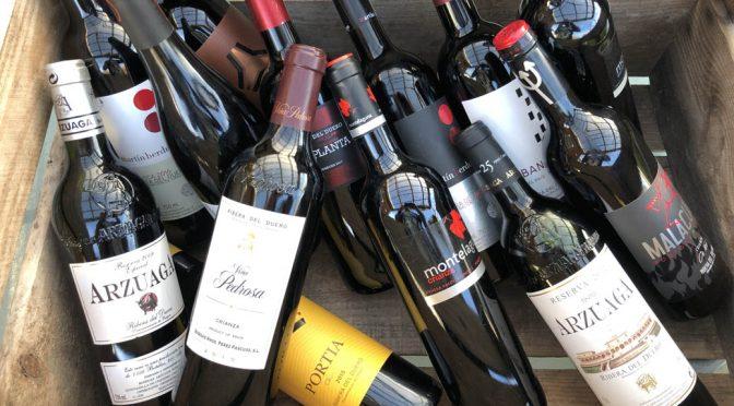 Smagning af vine fra Ribera del Duero … den vinøse spanske guldkyst