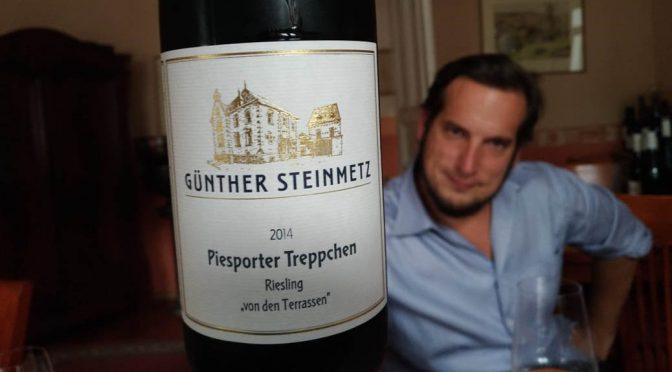 2014 Weingut Günther Steinmetz, Piesporter Treppchen Riesling von Terrassen, Mosel, Tyskland
