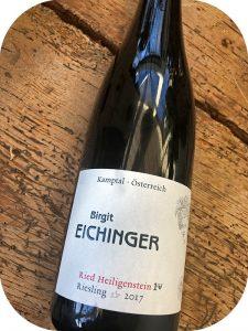 2017 Weingut Birgit Eichinger, Riesling Ried Zöbinger Heiligenstein Erste Lage, Kamptal, Østrig